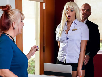 Athena Palomino & Johnny Sins in Checking Into Athena - BrazzersNetwork