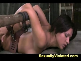 Sofia Delgado in first bondage shot 1
