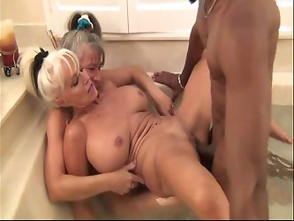 Mature Bimbo's feast upon BBC