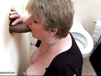 Not every hole is a glory hole, but that one is and for a chubby milf like Inca, that glory hole is more then she could ask. Seeing the bbc coming out