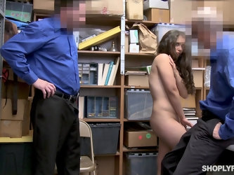 Tattooed babe Ziggy Star gets punished with two fat cocks