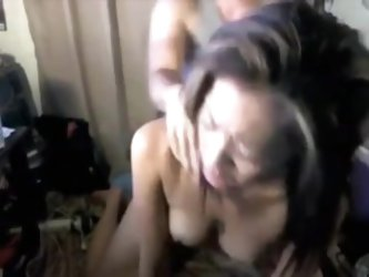 Gorgeous asian banged with the face  on cam