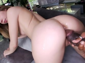 Fit a big black dick into skinny interracial slut Chastity Lynn