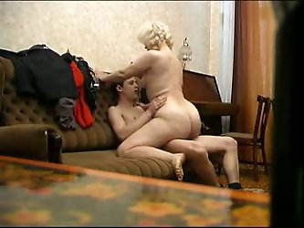 That full figured light haired BBW mommy is my neighbor's slutty Russian wife. Sassy bitch loves riding my stiff young cock on top and take it up