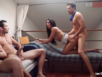 VIPSEXVAULT - Hot Cheating Couple Share Their Lovers In Foursome