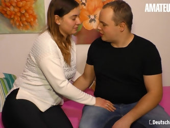 AMATEUREURO - Chubby German Couple loves Sex In Front Of Camera