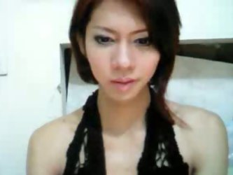 Sexy asian shemale jerks her hard cock in her exclusive private cam chat. Hot tranny masturbate her hard cock so fast till she release her cums.