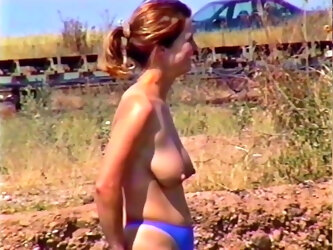 Famous Nipples, Topless By The Lake