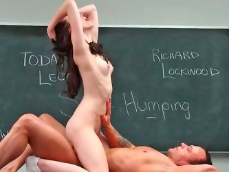 Veronica Radke receiving large sausage in her tight juicy vagina