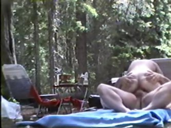 Couple camping sex