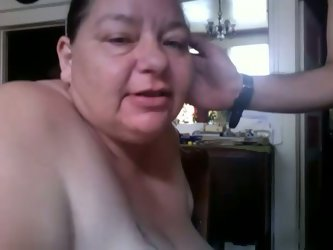 Fat and ugly mature lady is also hungry for some dick and jizz. So she sucked my cock on cam and ate a whole load of cumshot.