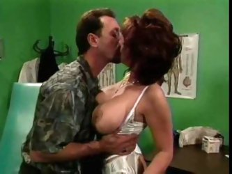 Sexy doctor lady fucked by a patient