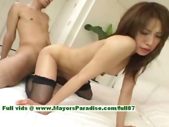 Ayane hot girl naughty Chinese model enjoys a hard core