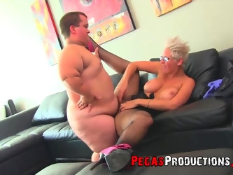 Alyson Queen gets her pussy banged in all possible ways by her friend