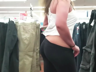 MILF Public Nudity at The Walmart - Big Titties and Masturbation